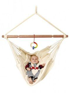 Niedliche Baby-Hängematte aus Bio-Baumwolle