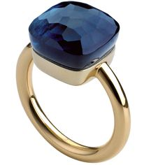 Sapphire Rings pomellato nudo ring - I think I would love this as an engagement ring! Rate this from 1 to Sapphire Rings 40 Vintage Wedding Ring Details Jewelry Box, Jewelry Rings, Jewelry Accessories, Fine Jewelry, Jewelry Design, Unique Jewelry, Jewellery Holder, Handmade Jewelry, Pomellato