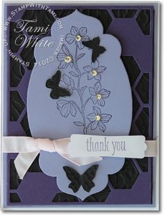 CARD: Hexagon Hive Surprise Card | Stampin Up Demonstrator - Tami White - Stamp With Tami Stampin Up blog