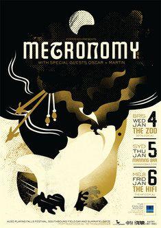Metronomy band poster