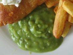 How To Make Authentic British Mushy Peas - YouTube