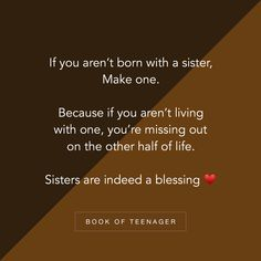 Image may contain: text – Best Quotes Sibling Quotes, Besties Quotes, Girly Quotes, Best Friend Quotes, Fact Quotes, Family Quotes, True Quotes, Funny Quotes, Attitude Quotes