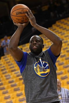 Draymond Green #23 of the Golden State Warriors warms up prior to Game Five of the Western Conference Finals against the Oklahoma City Thunder during the 2016 NBA Playoffs at ORACLE Arena on May 26, 2016 in Oakland, California.