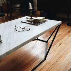 Close in on a Dusk Coffee Table by Coil + Drift - www.coilanddrift.com