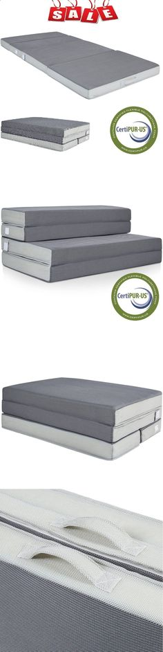 Camping Sleeping Pad - Mattresses and Pads 36114: Folding Portable Queen Mattress Sleeping Pad Camping Cushion Camp Guests Outdoor -> BUY IT NOW ONLY: $144.8 on eBay! #CampingSleepingPad