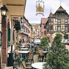 Kayserberg, Alsace, France    @diana_radakovic