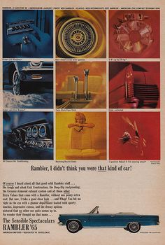 Rambler, I Didn't Think You Were THAT Kind of Car