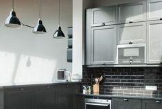 Maison Vanves : un plain-pied de 170 m2 remis à neuf - Côté Maison Track Lighting, Kitchen Cabinets, Ceiling Lights, Home Decor, Vacation, Room, Projects, Decoration Home, Room Decor