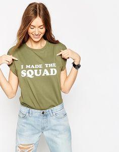 ASOS I Made The Squad T-Shirt