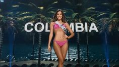 Paulina Vega, Miss Colombia - Preliminary Competition Miss ...