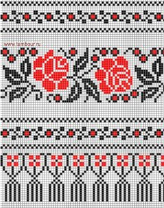 Cross Stitch Art, Cross Stitch Borders, Cross Stitch Flowers, Cross Stitch Designs, Crochet Stitches Patterns, Embroidery Stitches, Embroidery Patterns, Hand Embroidery, Cross Stitch Patterns