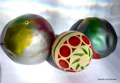 bola colorida antiga - Google Search