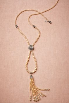 Nereid's Necklace in Shoes & Accessories Jewelry Necklaces at BHLDN