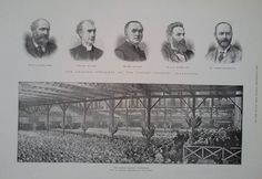 1892 PRINT THE ULSTER UNIONIST CONVENTION AND SOME OF THE LEADING SPEAKERS