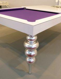 Cabochon billiard dining tables idea