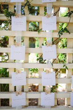 Butterfly Escort Card Display | Creative Intelligence Inc. | Tory Williams Photography | TheKnot.com
