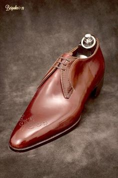 In terms of craft, fit and freedom of expression, the bespoke service at Gaziano & Girling creates simply some of the finest shoes available. Me Too Shoes, Men's Shoes, Shoe Boots, Shoes Men, Gentleman Shoes, Derby Shoes, Formal Shoes, Luxury Shoes, Casual Sneakers