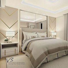 Luxury Bedroom Design, Master Bedroom Design, Home Decor Bedroom, Modern Bedroom, Bedroom Wall, Bedroom Furniture, Interior Design, Double Bedroom, Hotel Decor