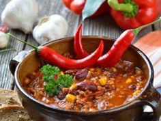 Chilly? Warm Up with Chili!