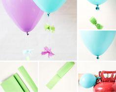 Balloon Pom Pom How To #DIY