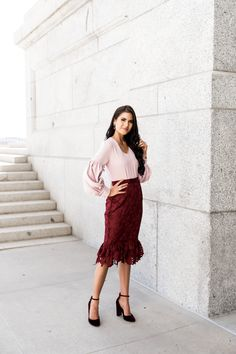 Womens Office Look Business Casual Outfits, Business Attire, Business Fashion, Professional Wardrobe, Professional Women, Spring Fashion, Autumn Fashion, Avenue Dresses, Street Style Summer