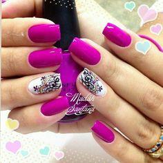 Love the color Get Nails, Love Nails, Hair And Nails, Gorgeous Nails, Pretty Nails, Shellac Nails, Nail Polish, Square Oval Nails, Nail Time