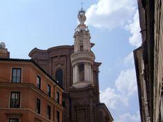 Roms schönster Kirchturm, Sant'Andrea delle Fratte von Borromini