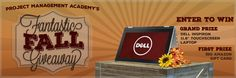 """Project Management Academy's Fantastic Fall Giveaway!    Enter to win a Dell® Inspiron 11.6"""" Touch-Screen Laptop. http://projectmanagementacademy.net/promotions/2014/10/promotion_10-13-14.php?utm_source=giveawaypromote&utm_medium=giveaway&utm_campaign=OctoberGiveaway"""