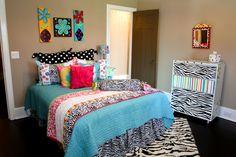 Bedroom for teenage girl.