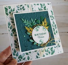 The Forever Greenery Suite from Stampin' Up! was my choice for making these Birthday cards for friends recent birthdays. The Art With Heart Team's Creative Showcase theme for the month of June was creating projects with favourite products from the new 2020-2021 Stampin' Up! Annual Catalogue.