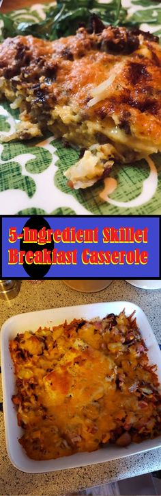 5 Ingredient Skillet Breakfast Casserole - MY Delish Food  #Recipes #Instantpotrecipes #Chickenrecipes #Dinnerideas #Healthydinnerrecipes #Airfryerrecipes #Dessertrecipes #Food #Foodrecipes #Dinnerrecipes #Chickenrecipes #Dinnerideas #Breakfastideas #Healthyrecipes #Foodrecipes #Chickenrecipes #Dinnerideas #Easydinnerrecipes #Dessertrecipes #Healthyrecipes #Cookingrecipes #Dinner #Dinnerideas #Chickenrecipes #Healthydinnerrecipes #Pastarecipes #Casserolerecipes Lunch Meal Prep, Easy Meal Prep, Pork Recipes, Chicken Recipes, Cooking Recipes, Healthy Dinner Recipes, Breakfast Recipes, Breakfast Healthy, Meal Prep For Beginners