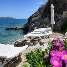 Rosy's Little Village, Agistri Island, Greece. Nestled in a pine forest just above the sea http://www.organicholidays.com/at/1408.htm