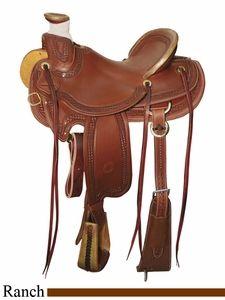 "15"" to 17"" Circle Y Elko Ranch Saddle 1343"