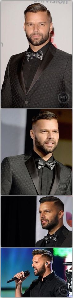 RICKY MARTIN'S awesome hair.