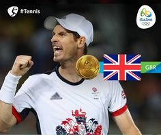 Rio 2016 @Rio2016_en 23h23 hours ago #GBR's @andy_murray takes #Gold and…