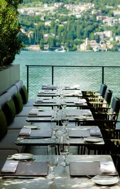 Il Sereno Hotel, Lake Como by Patricia Urquiola Patricia Urquiola, Lobby Do Hotel, Luxury Lifestyle Women, Rooftop Bar, Suites, Apartment Interior, Restaurant Design, Luxury Living, Outdoor Dining