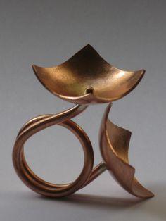 Ring | Eleni Georgiopoulou.  Copper