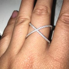 SALE- Sterling silver ring Not sure what size but it fits my middle and pointer fingers easily. Stamped 925. Good deal for such a classic- just trying to move my closet! Jewelry Rings