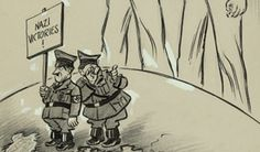 World War II - Pointing Their Pens: Herblock and Fellow Cartoonists Confront the Issues | Exhibitions - Library of Congress