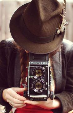 Chapéu + câmera