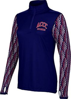 Womens Atlantic Cape Community College Community College Deco Half Zip Long Sleeve >>> You can find out more details at the affiliate link of the image.