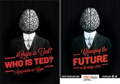 TEDx Gijón by Manuel Persa, via Behance