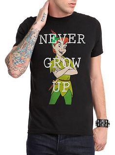 Disney Peter Pan Never Grow Up T-Shirt | Hot Topic