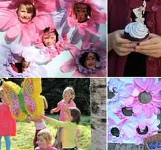 Butterfly Birthday party, handmade parties, party planning for kids