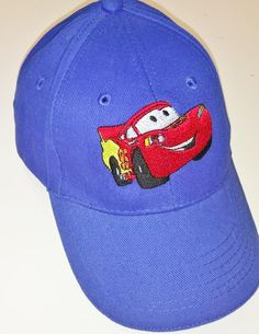 Baseball cap,Lightning Mcqueen, Cap embroidery, Caps,Baseball cap,embroidery,machine embroidered,Planes logo on kids baseball cap for boys by NeedleArtGR on Etsy