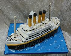 titanic cake - Click to close image, click and drag to move. Use arrow keys for next and previous.