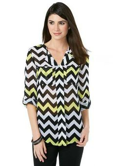 Cato Plus Size Fashion Catalog Cato Fashions Chevron Print