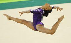 Rebeca Andrade; ginástica artística; brasil; olimpíadas (Foto: Mike Blake/Reuters)