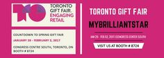 VISIT MYBRILLIANTSTAR AT THE TORONTO GIFT FAIR - MyBrilliantStar MyBrilliantStar displays the Original Herrnhut stars from Germany at the Toronto Gift Fair!  In January we will once again exhibit at the largest trade fair in Canada, the Toronto Gift Fair. This year is a special year for all Canadians. We are celebrating Canada's 150th birthday. Don't miss these great products at the show. #mybrilliantstar #herrnhutstar #moravianstar #decoration #gifts