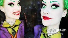 The Joker (Jack Nicholson Version) Makeup/Body Paint Tutorial - ok Cass idk about the lower body paint, but its a good idea! Joker Makeup, Clown Makeup, Fx Makeup, Costume Makeup, Batman Makeup, Hair Makeup, Joker Halloween, Diy Halloween Costumes, Halloween Cosplay